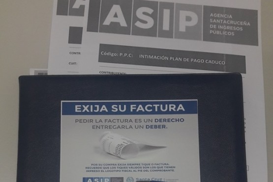 ASIP comenzó a intimar a contribuyentes con planes de pagos caducos