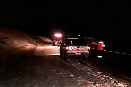 Vialidad auxilió a camiones tras despiste