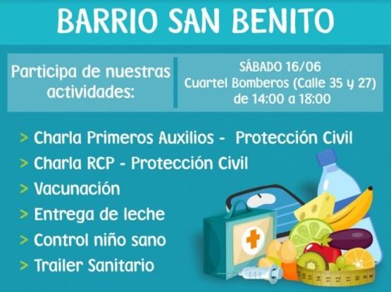El tráiler sanitario ofrecerá sus serviciose el San Benito