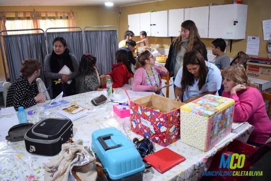 Los vecinos de Zona de Chacras recibieron atención sanitaria