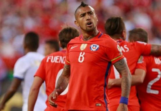 Arturo Vidal les mandó un mensaje a los argentinos