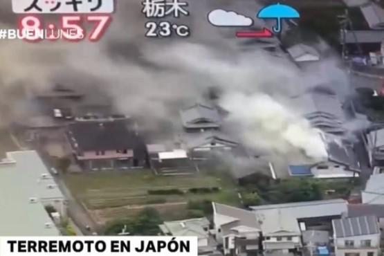 Al menos 3 muertos y más de 200 heridos por un terremoto en Japón