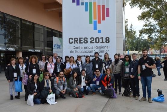 Activa participación de la UNPA en la CRES 2018