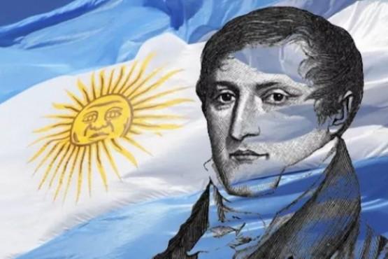 """Belgrano, el """"Hombre del Bicentenario""""."""