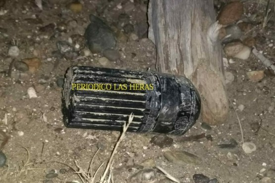 Encuentran una granada en inmediaciones del circuito