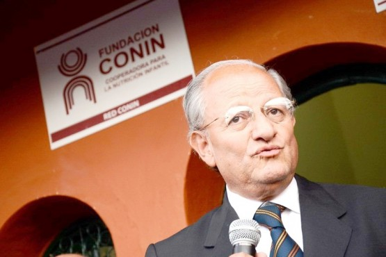 Abel Albino fue invitado por la Conmujer a un congreso social el mes que viene