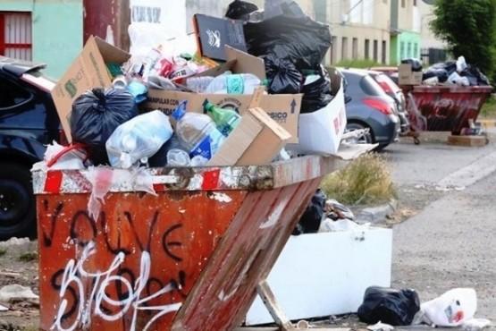 La basura generó cruce entre vecinos.