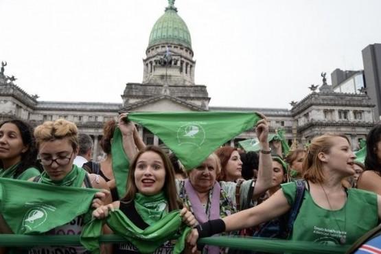 Aborto legal en el Senado: Patagonia, con tendencia verde