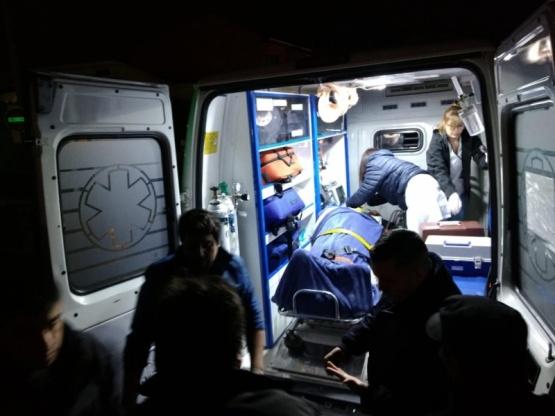 Un hombre hospitalizado tras ser atropellado