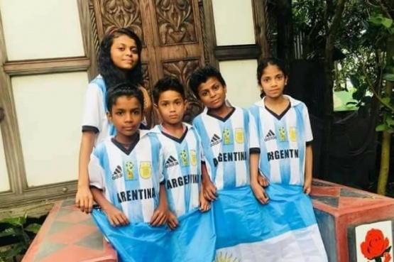Bangladesh hincha por Argentina