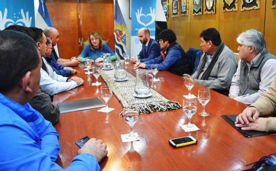 Representantes de Fe.Tra.M. se reunieron con la Gobernadora