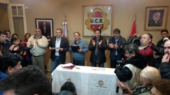 Asumieron las nuevas autoridades de la UCR