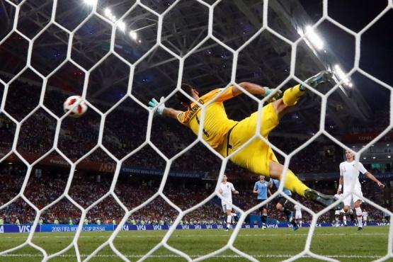 Uruguay venció y dejó afuera a Portugal