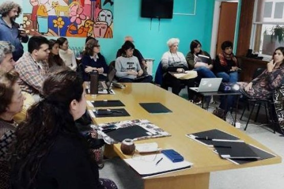 La iniciativa contó la participación de artistas del lugar.