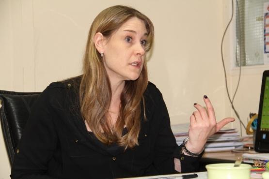 Lorena Beltrán, subsecretaria de la Mujer.
