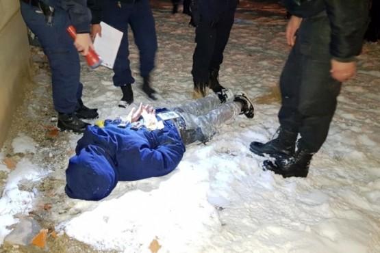 Robaron un bidón con nafta y fueron detenidos