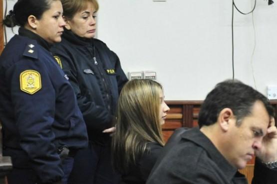 Nahir Galarza, condenada a prisión perpetua. FOTO: NA
