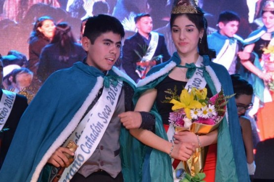 Luisina Romero e Ian Pozo son los nuevos soberanos