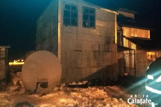 Se quemaron dos casas en El Chaltén