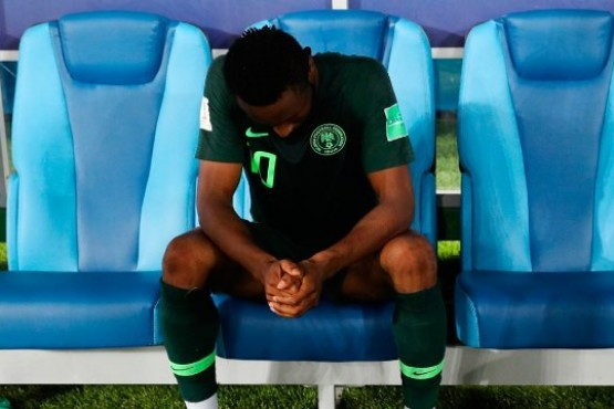 El capitán de Nigeria jugó ante Argentina con su papá secuestrado