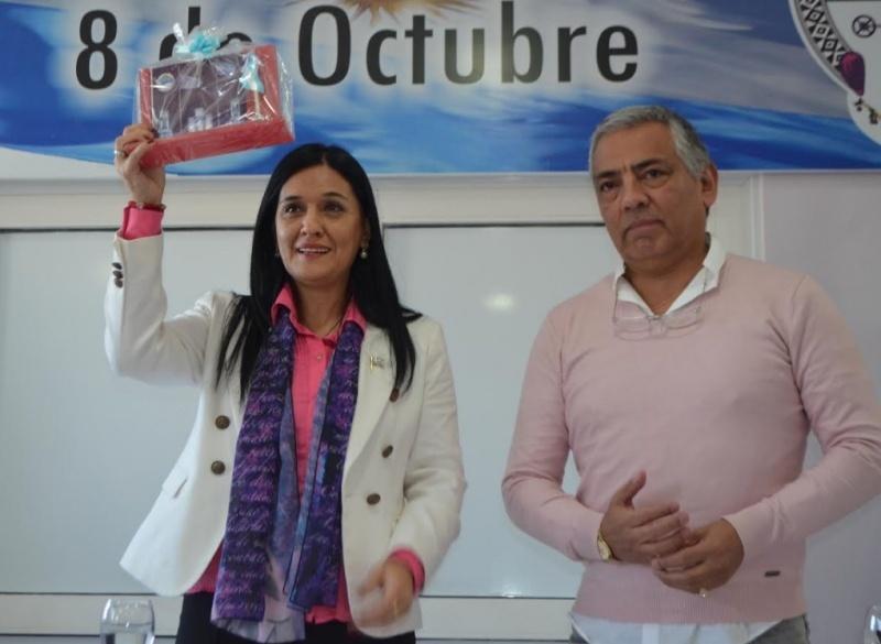 Hoy se realizó la presentación en Cañadón Seco.