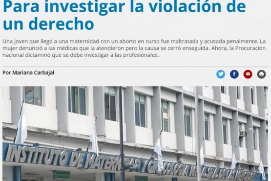 El Calafate: Ginecóloga anti-aborto tiene causa por legrado sin anestesia en Tucumán
