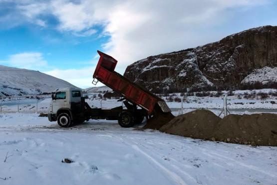 Comienzan los trabajos para traslada la usina en El Chaltén