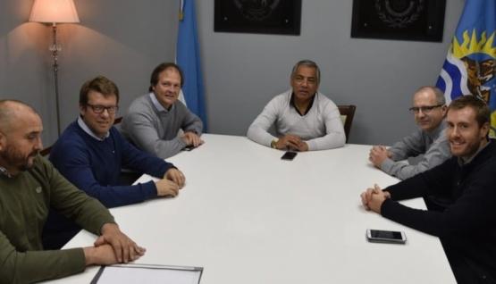 Soloaga destacó plan de inversiones de YFP para Santa Cruz