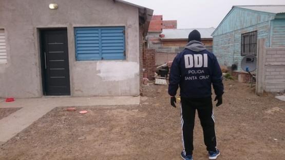 Trabajó personal de la DDI.