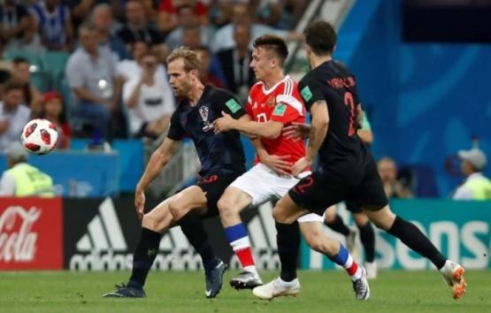 Croacia eliminó a Rusia por penales