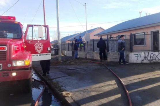 Explosión del extractor provocó un incendio