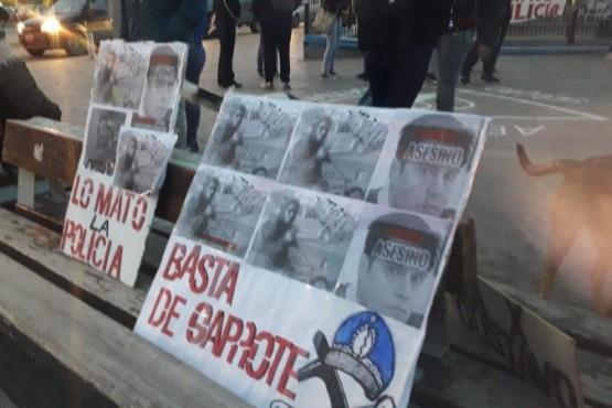 Gustavo Gerez: nueva manifestación frente a la Seccional Primera