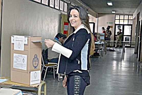 Zuvic, en una de las elecciones en Santa Cruz. (Archivo).