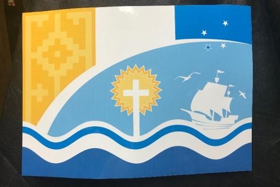 Puerto San Julián ya tiene su bandera