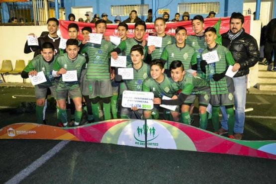Se jugaron las finales de Fútbol Masculino por los Juegos Evita