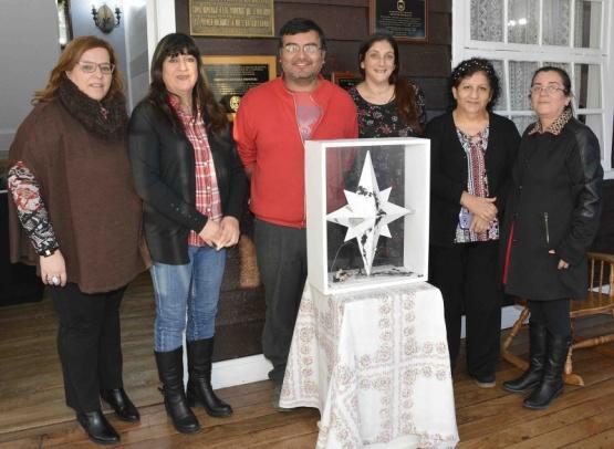 Entregaron la estrella de identidad al Museo de los Pioneros