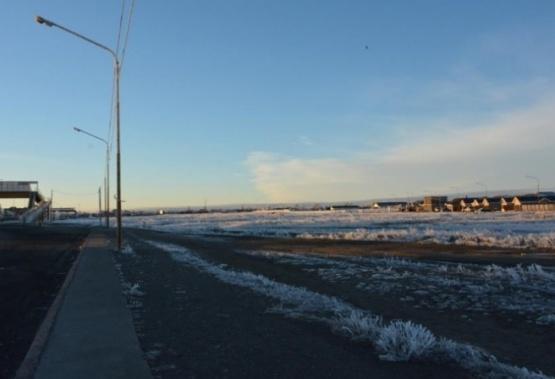 La ola de frío ya llegó a la ciudad.
