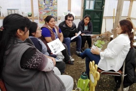 Al taller educativo Manitos Verdes asisten 32 niños. (C. G)