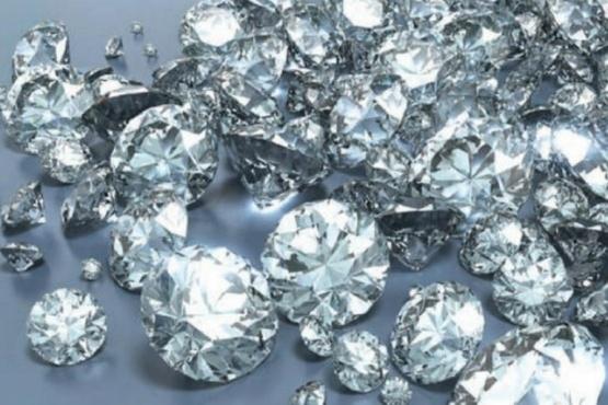 Un grupo de científicos descubrió una avalancha de diamantes