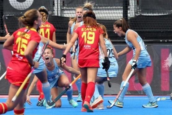 Las Leonas aplastaron a España en el debut en el Mundial de Londres