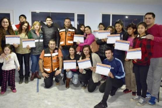 Realizaron vacunación y charlas de RCP en el San Benito