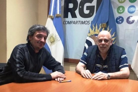 """La UCR """"le restó importancia"""" a la foto de Giubetich y Máximo Kirchner"""