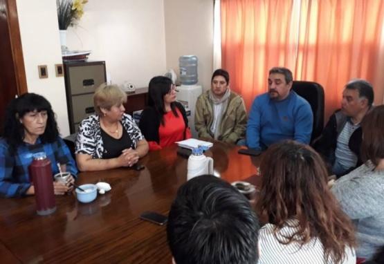 Brizuela confirmó el ingreso de hijos de municipales jubilados