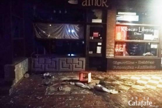 Intentaron incendiar un local comercial