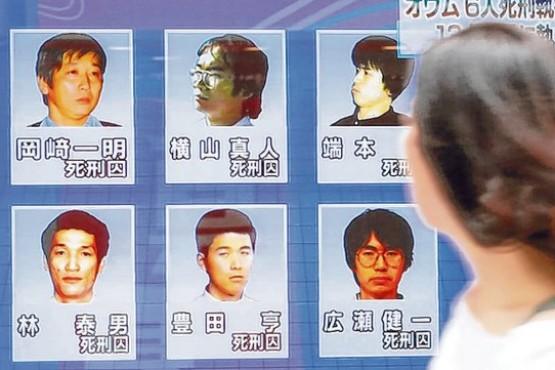 Japón ejecutó a otros seis condenados por un atentado con gas