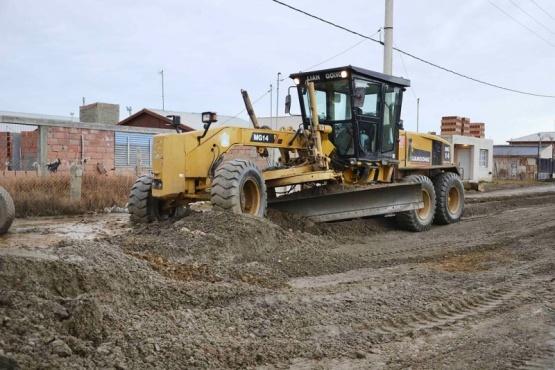 Trabajos para mejorar las calles del San Benito
