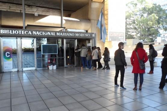 """Biblioteca Nacional """"Mariano Moreno""""."""