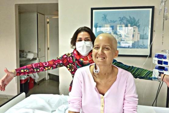 María Belén y Lola compartieron 25 años de amistad.