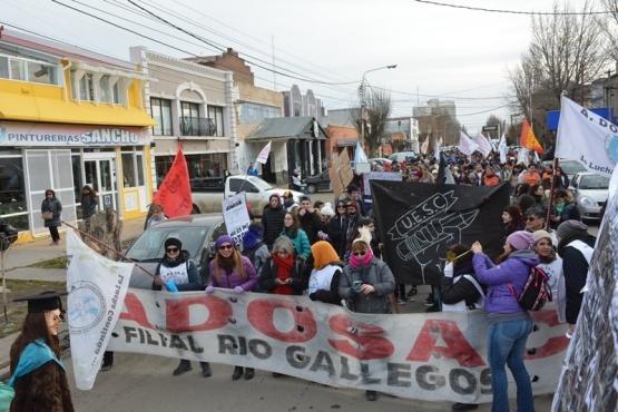 ADOSAC encabezó marcha de protesta de distintos sectores