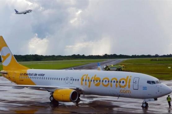 Otro fiscal pidió suspender vuelos de Flybondi y las operaciones desde El Palomar